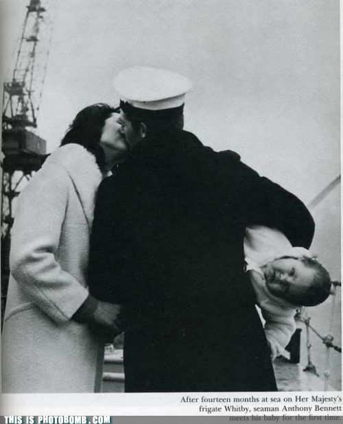 baby black and white Good Times he cares seaman wife - 5568740352