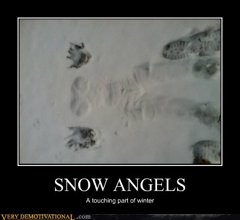 hilarious,sexy times,snow angels,wtf