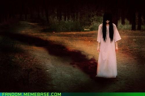 cosplay creepy movies samara the ring - 5569131520