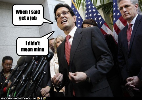 eric cantor,political pictures