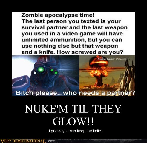 ghost knife nuke Pure Awesome star craft - 5569197056
