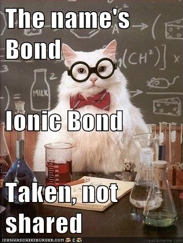electrons goldfinger ionic bond james bond physics - 5569239040