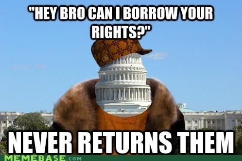 america Congress rights Scumbag Steve - 5569417728
