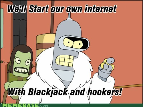 bender blackjack futurama internet Memes - 5569504256