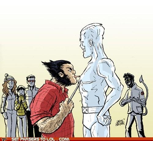 A Christmas Story,hulk,iceman,marvel comics,wolverene,x men