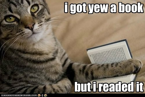book,but i eeted it,caption,captioned,cat,got,I,meme,read,variation,you