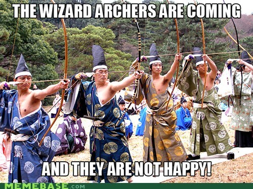 archery,emotions,happy,Memes,Sad,what,wizards