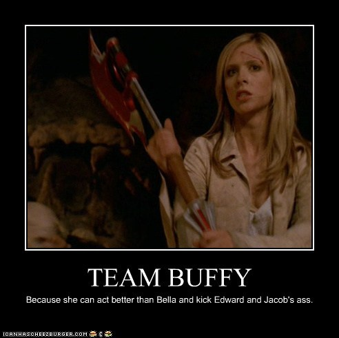 bella best of the week Buffy Buffy the Vampire Slayer edward Jacob Sarah Michelle Gellar