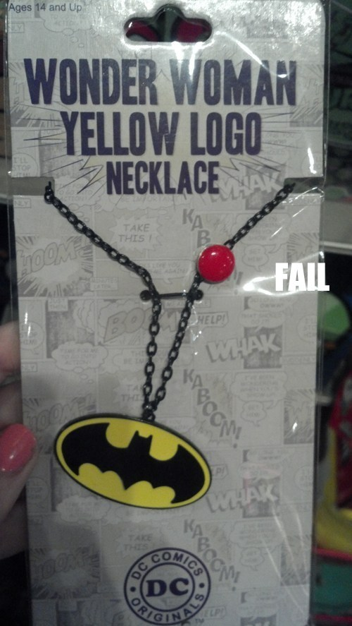 batman product fail superhero wonder woman - 5570249216
