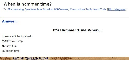 hammer time lyrics wiki answers wikipedia - 5570756608