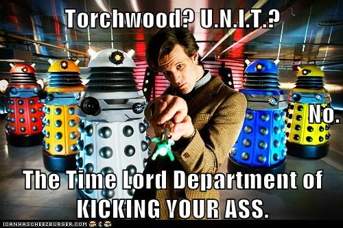 dalek doctor who kick ass Matt Smith the doctor Time lord - 5570793728