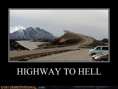 bridge highway hilarious road