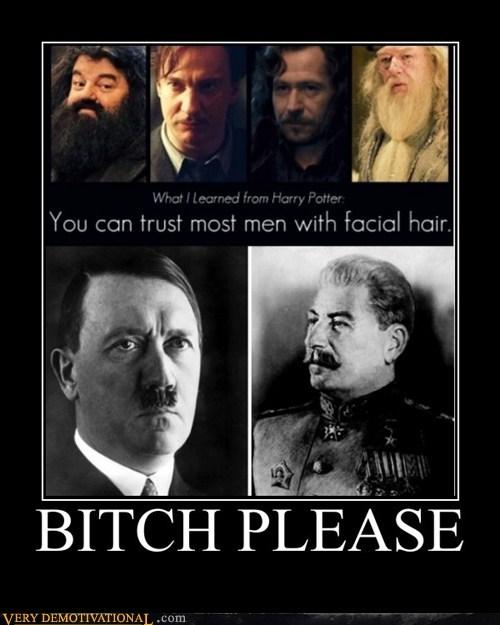 facial hair hilarious hitler stalin wrong