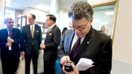 Al Franken,att,carrier iq,Nerd News,sprint,Tech