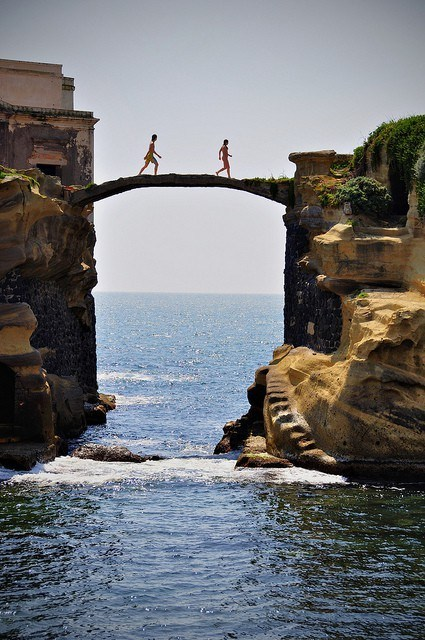 awesome bridge europe getaways Italy ocean - 5572276992