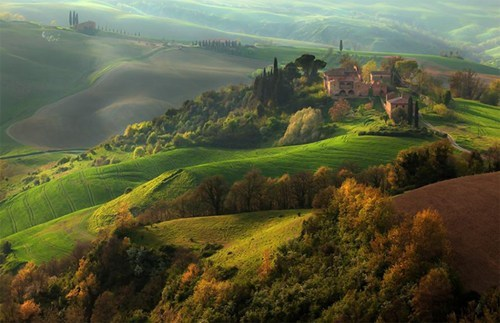 beautiful europe getaways green Hall of Fame hillsides Italy tuscany - 5572287488