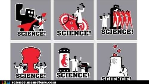 biology Chemistry dinosaurs Memes nuclear power robots science - 5572592384