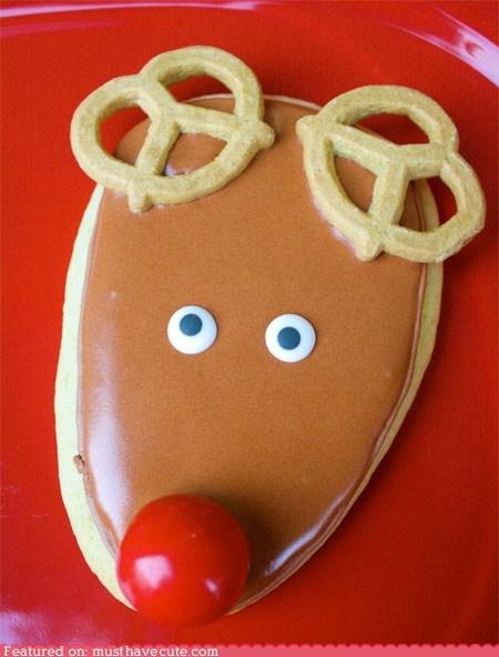 cookies epicute gumball icing reindeer rudolph