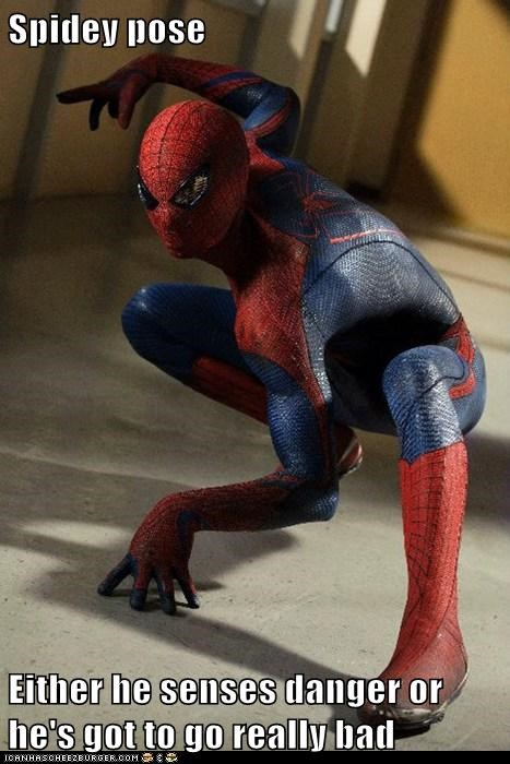 andrew garfield,danger,peter parker,pose,Spider-Man,spidey