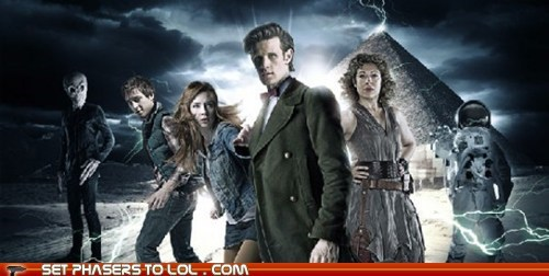amy pond arthur darvill doctor who karen gillan Matt Smith news rory williams the doctor - 5572892672
