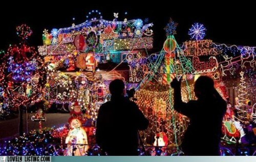 best of the week christmas lights too much whoa - 5572911360