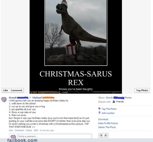 christmas dinosaurs - 5572951296