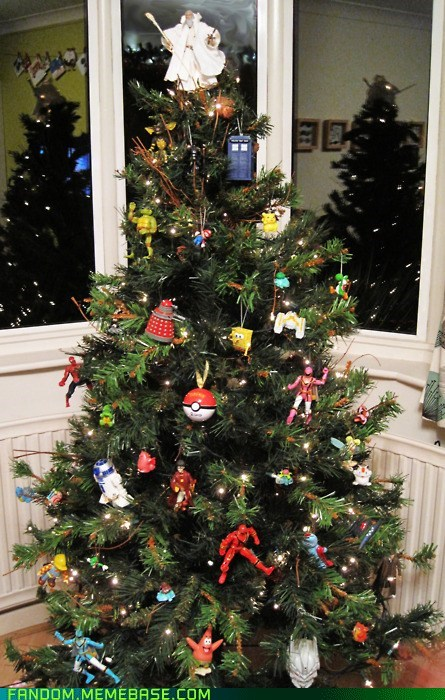 best of week,christmas tree,Fan Art,fandom,gandalf,Memes,pokeball,r2d2,tree