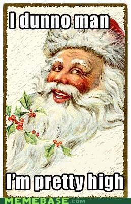 christmas,high,Memes,santa