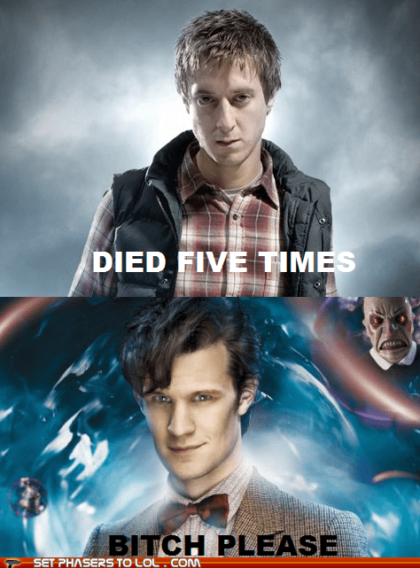 died five Matt Smith please regeneration rory williams the doctor - 5573339648