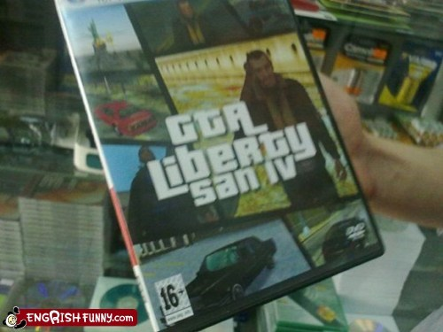 gta iv knock offs liberty city