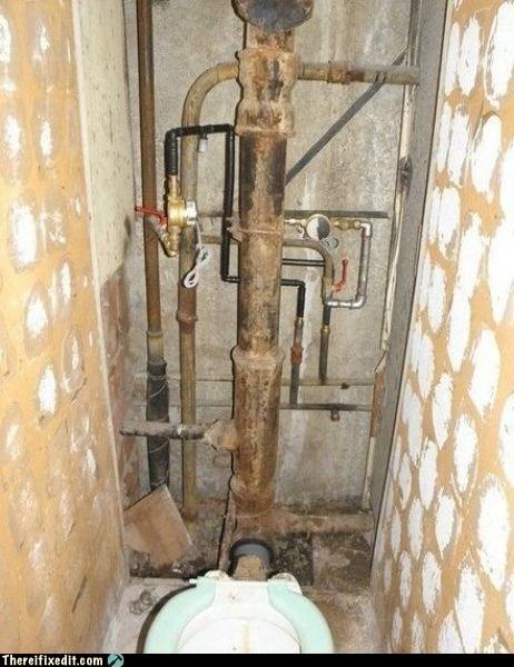eastern europe plumbing toilet wtf - 5573455616
