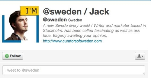 curators of sweden,Nerd News,Sweden,twitter