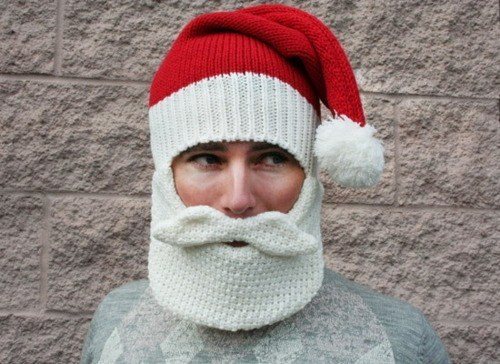 g rated knitting mask santa sketchy santas ski mask skiing