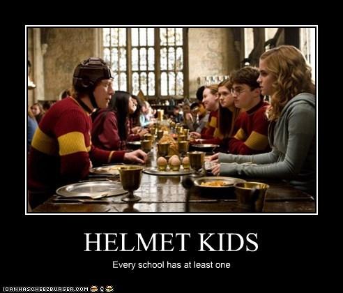 emma watson,Harry Potter,helmet,hermione granger,Ron Weasley,rupert grint,school