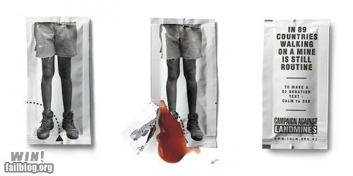clever design g rated ketchup mine psa win - 5574153984