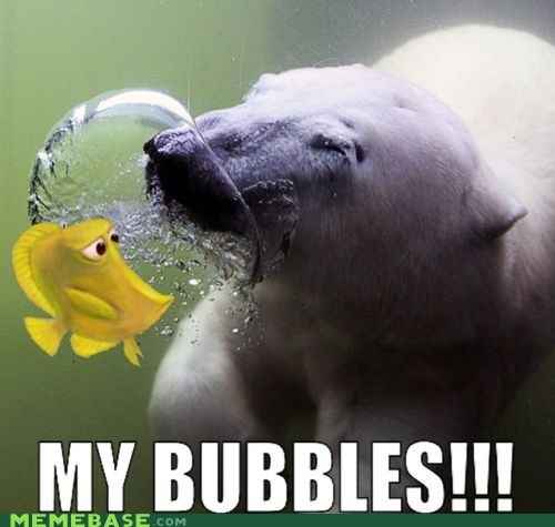 bubbles,finding nemo,fish,Memes,mine