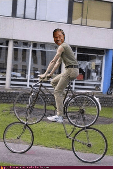 bikes,they see me rollin,yo dawg
