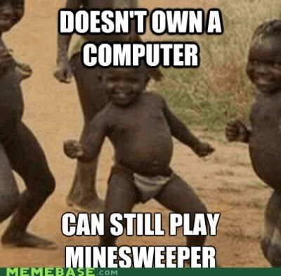 best of week computer hard mode Minesweeper Third World Success Kid - 5575162112