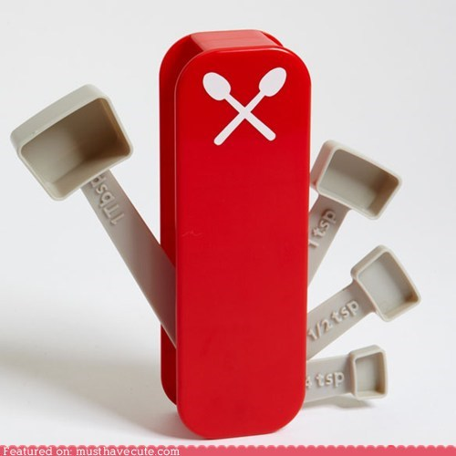cooking Measuring spoons swiss army knife utensils - 5575246848