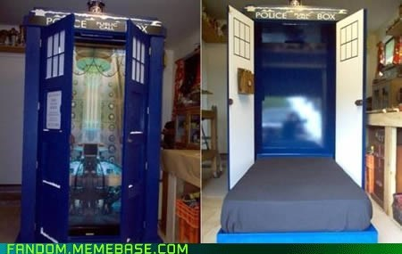 bed best of week doctor who Fan Art tardis Whovian - 5575840768