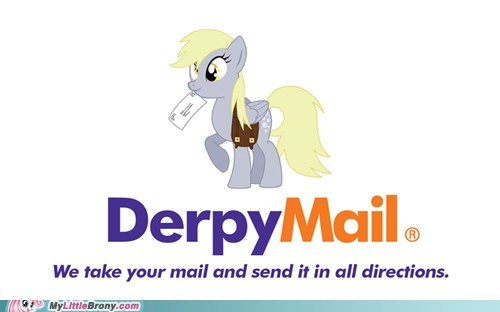 all directions derpy hooves IRL mail - 5576172544