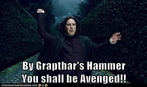 Alan Rickman alexander dane avenged best of the week Harry Potter Severus Snape Troll Quote - 5576359424