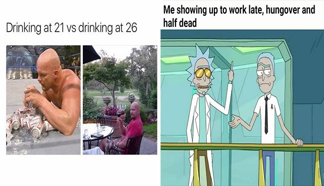 Hungover Memes