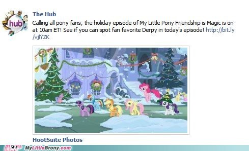 Bronies derpy hooves hearths-warming-eve ponies pony fans - 5576604672