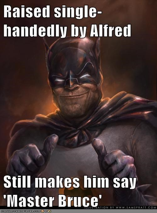 alfred,batman,eww,master bruce,Super-Lols