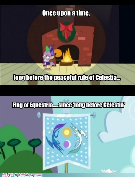 celestia flag leaders luna seems legit TV - 5576767744