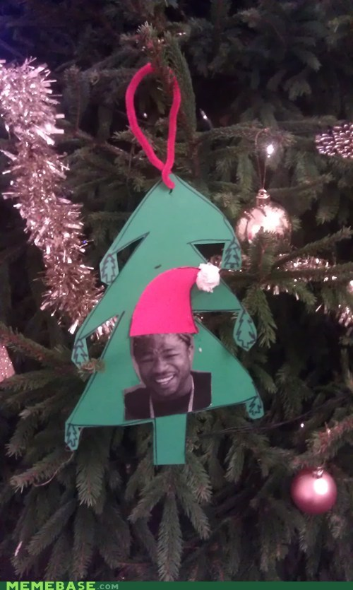 christmas,ornament,trees,yo dawg