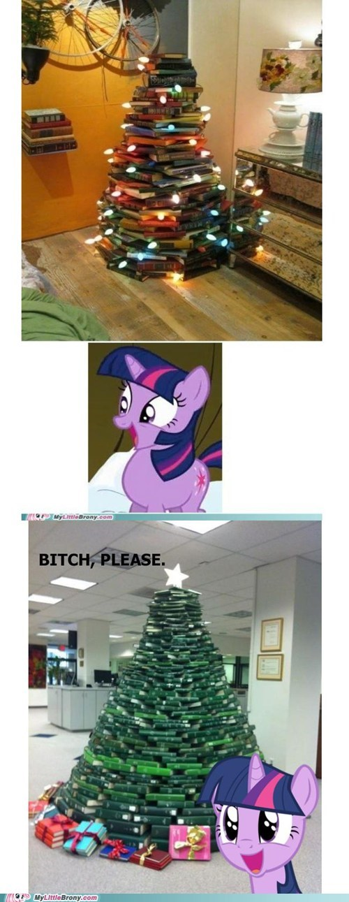best of week books christmas tree IRL twilight sparkle - 5576887552
