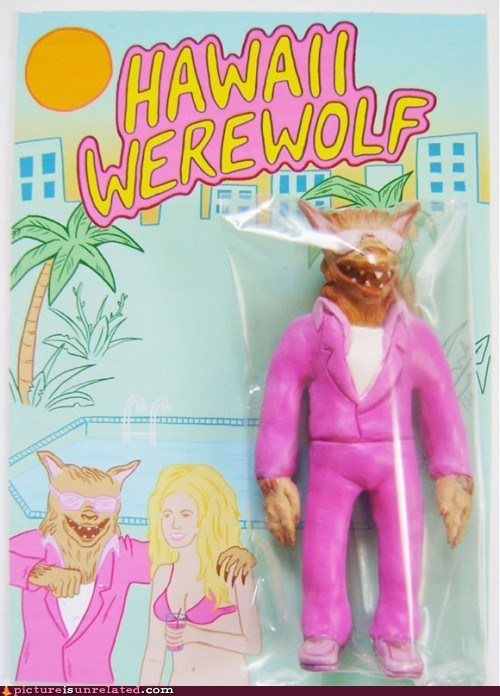 gayer than twilight Hawaii pink werewolf wtf