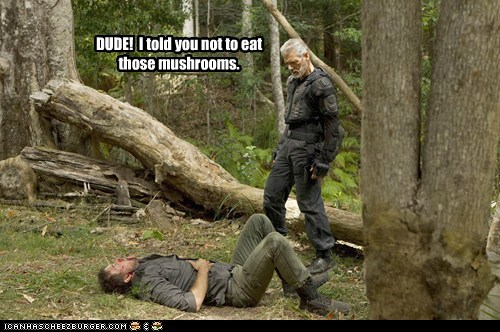 commander taylor dude Mushrooms Stephen Lang terra nova - 5578685952